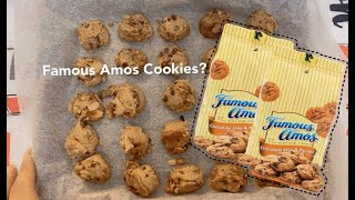 TESTING out Viral Famous Amos Cookie Recipe