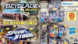 EARLY MORNING BEYHUNT! Beyblade Burst Toy Hunting at Target & Walmart for Hasbro's Wave 3 Surge Beys
