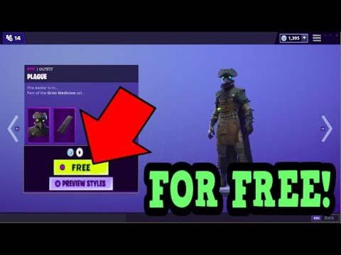 HOW TO GET PLAGUE SKIN FOR FREE! (Fortnite Old Skins)