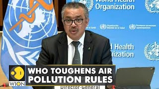World Health Organization toughens its air quality standards in 16 years