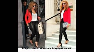 Style Steal : Beyonce's Red Smoking Contrast Blazer