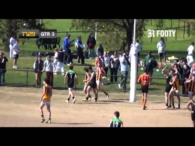 2012 SMJFL Grand Final - Under 15 Div 1 Cheltenham v East Sandringham