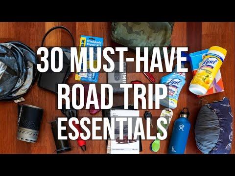 Road Trip Essentials - 30 Travel Accessories + Coronavirus Travel Tips