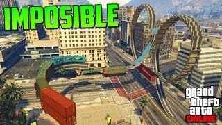 desesperacion acrobacia imposible gameplay gta 5 online funny moments carrera gta v ps4
