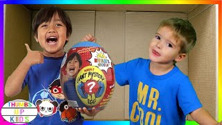 We Lost Our Son in the Mail | I Mailed Myself to Ryan Toysreview | Thumbs Up Kids