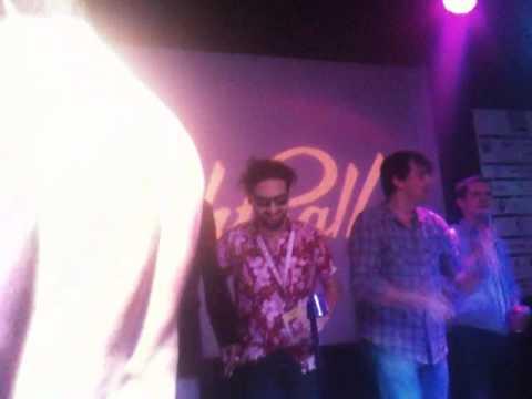 Fantastic Fest 2010 Karaoke - The RZA, Elijah Wood, Tim League do Black Eyed Peas