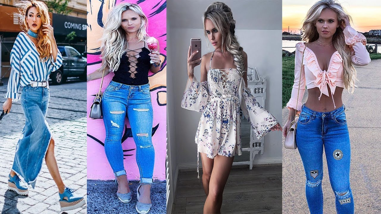 Trendy Spring 2017 & Summer 2018 Outfit Ideas   Lookbook 5