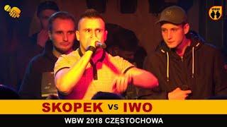 IWO vs SKOPEK  WBW 2018  Częstochowa (1/4) Freestyle Battle