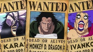 Revolutionary Army Bounties In One Piece (Chapter 905+)