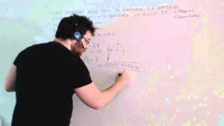 Ecuación de la parábola Acceso a ciclos Examen Matemáticas Academia Usero Estepona