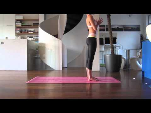Yoga For Beginners 10 Minute Sun Salutation Sequence