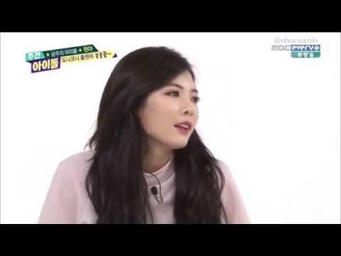 140806 Weekly Idol - HyunA's Ranking Beast Best Body Cut