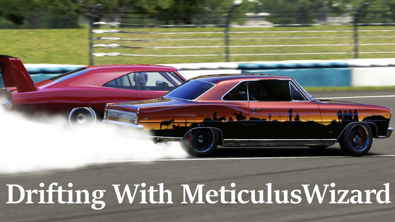 Forza Motorsport 6 Muscle Car Drifting With Meticuluswizard