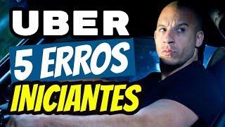 Uber: 5 ERROS que todo Iniciante (e até Veteranos) cometem!