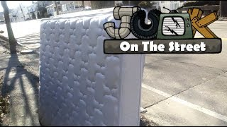 Mattress #2 With Box-spring And Chair - Junk On The Street