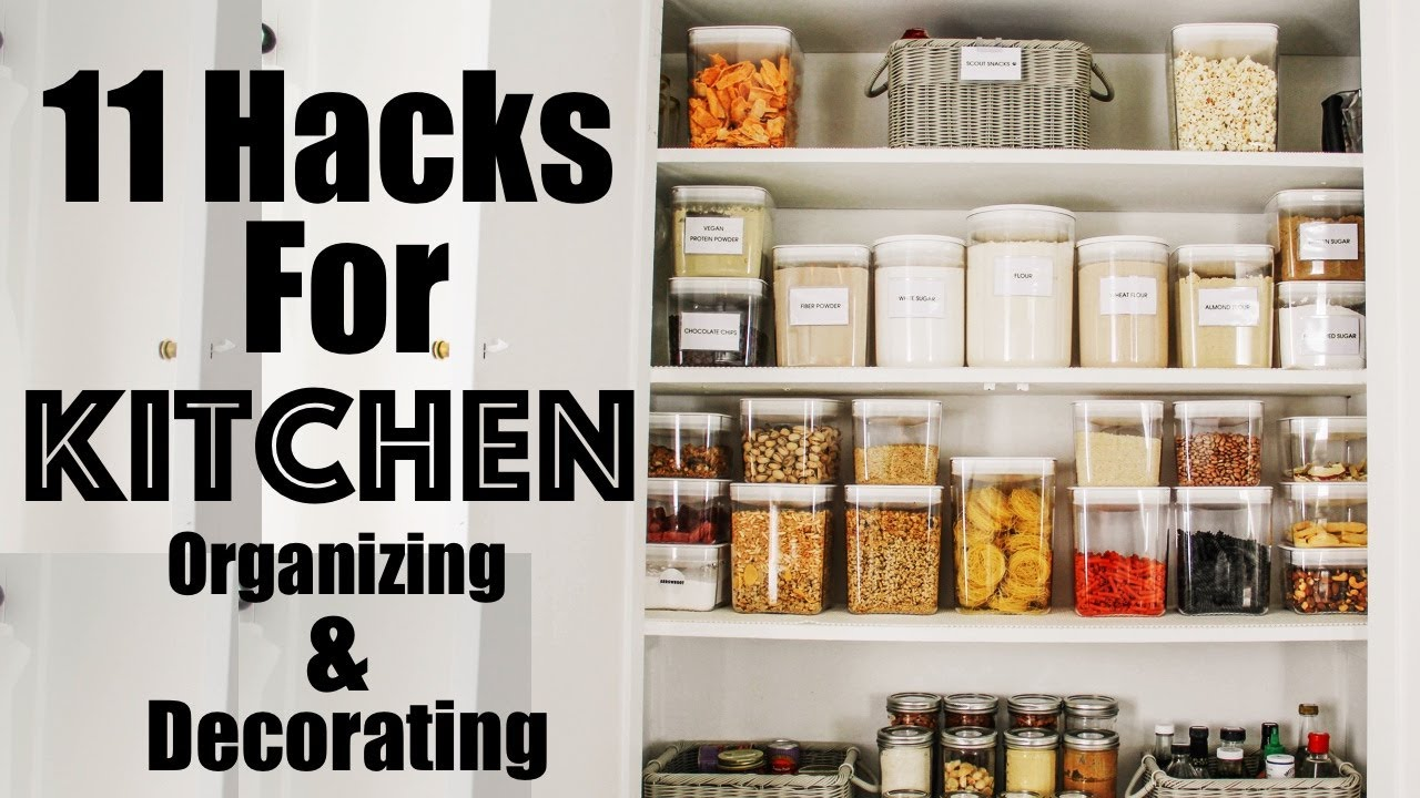 ORGANIZE 11 HACKS to Decorating and Organizing a SMALL