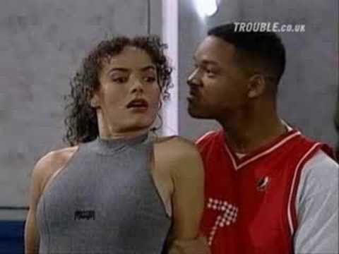 Fresh Prince Of Bel-Air Funny Will Smith Scene in the gym