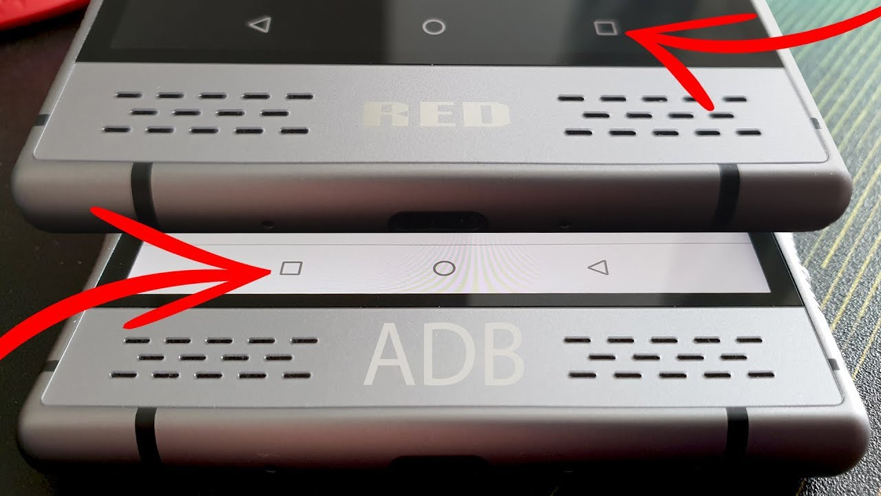How to swap navigation buttons via ADB on any Android phone
