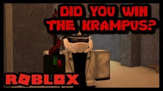 WHO WON THE KRAMPUS GIVEAWAY? ROBLOX ASSASSIN