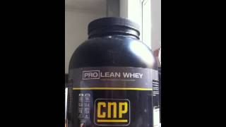 Product Review CNP Pro Lean Whey