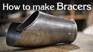 how to make a bracer/Eng sub/ Как сделать наруч