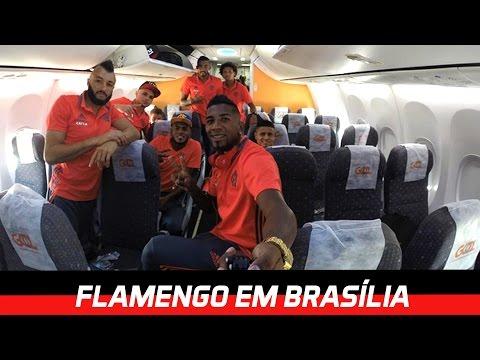 Fla-Flu - Bastidores da viagem a Brasília