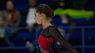 Камила Валиева Произвольная программа Finlandia Trophy 2021