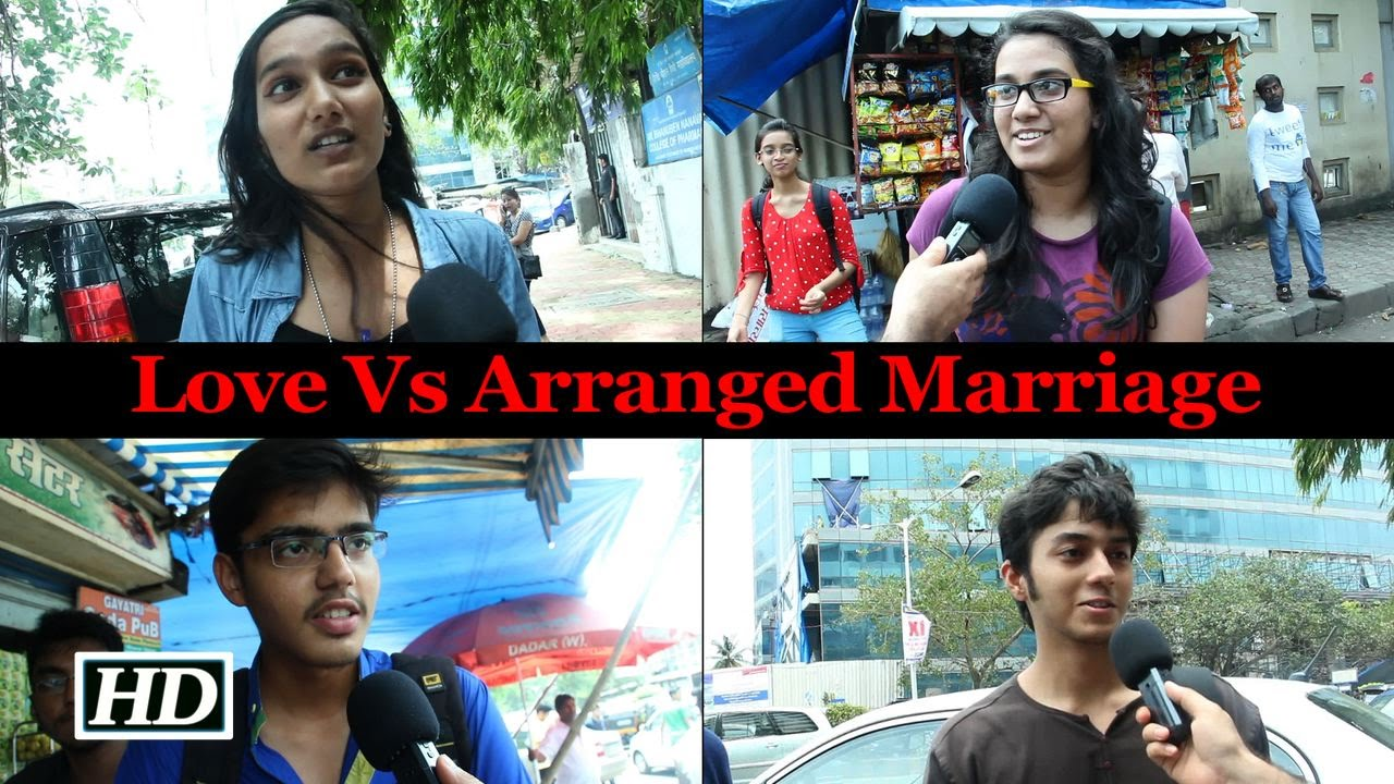 love marriage vs arranged marriage mumbai speaks