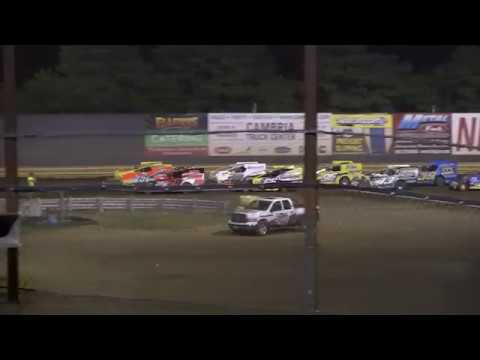 New Egypt Speedway Modified Feature Jul 8, 2017 Pt. 3