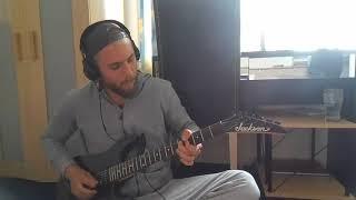Horkýže Slíže - Motorkářská (GUITAR COVER, SOLO) видео