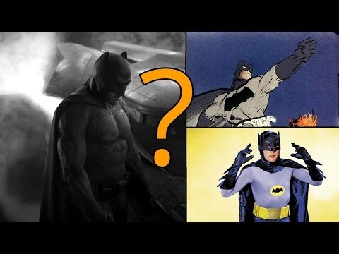 Affleck Batsuit REVEALED!
