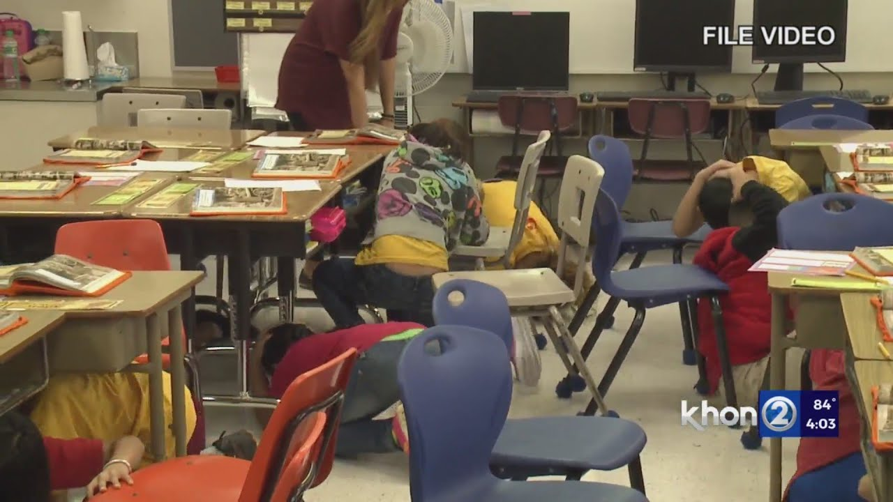 Great Hawaii ShakeOut part of national earthquake readiness drill