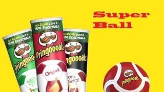 Обзор на мини футбольный мяч pringles