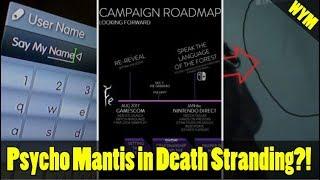 PlayStation Name Changes, EA Leaks Marketing Plan, Death Stranding Psycho Mantis Found