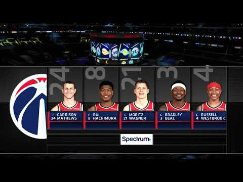 Lakers Broadcast Accidentally Put Isaiah Thomas In Wizards Starting Lineup