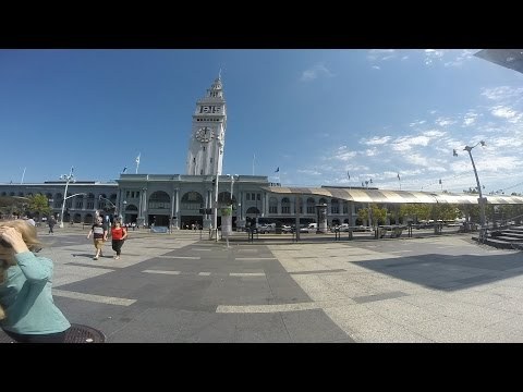 Touring San Francisco - San Francisco Ferry Building