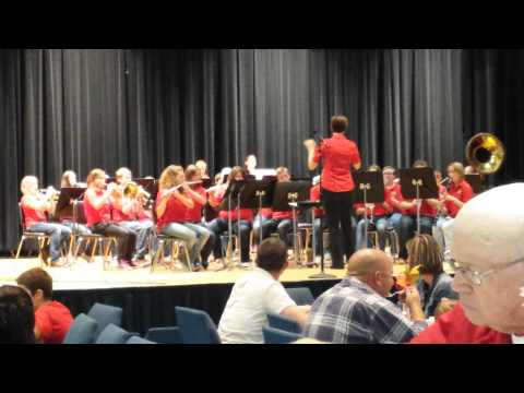 """Soul Bossa Nova"" Mapleton Middle School Band"