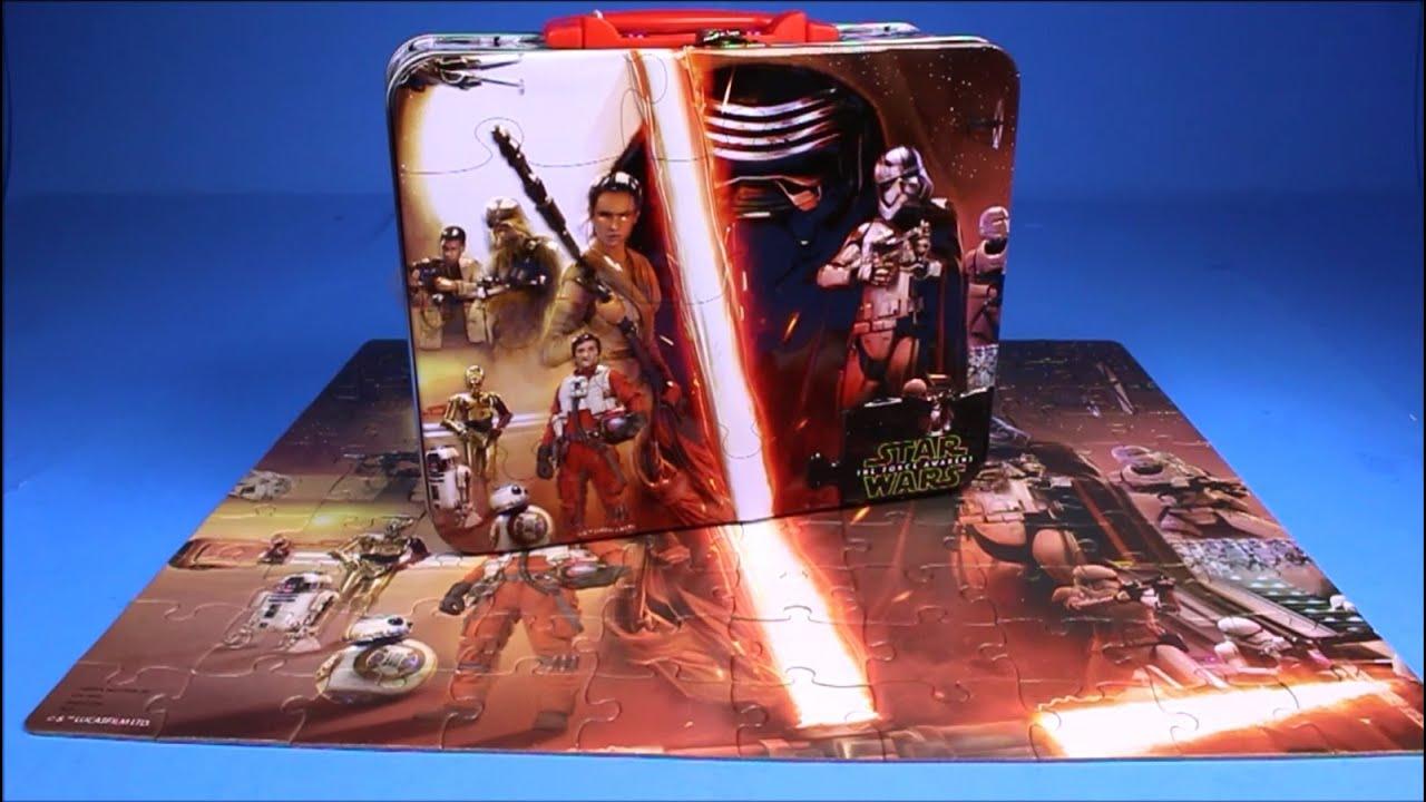 star wars the force awakens puzzle time lapse build episode 7 kylo ren lightsaber video trailer. Black Bedroom Furniture Sets. Home Design Ideas