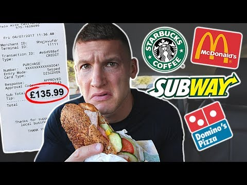 Letting fast food employees decide what I eat for 24 hours…