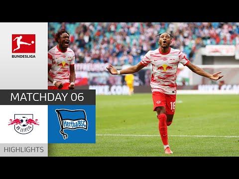 RB Leipzig Hertha Berlin Goals And Highlights