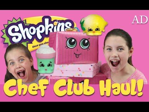 HUGE SHOPKINS CHEF CLUB HAUL! Season 6 -...