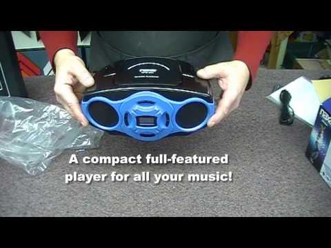 Naxa NPB264 Portable MP3/CD/AM/FM Player