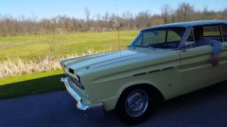 "1965 Mercury Comet Cyclone FOR SALE 289 4v C4 ""drive by"" Underrated American Muscle car!"