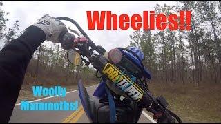 How I Wheelie My Yamaha Wr250x