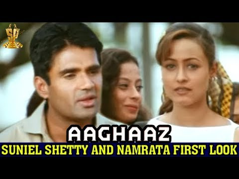 Suniel Shetty and Namrata Shirodkar first look | Aagghaaz Hindi movie | Sushmita Sen