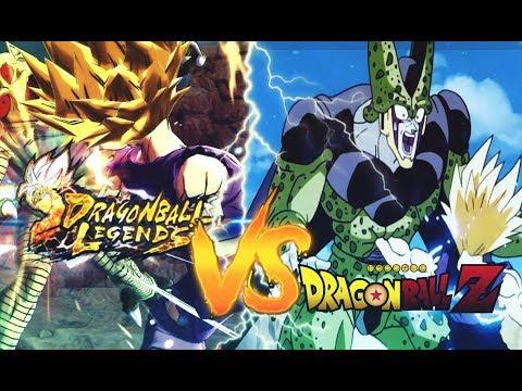 DRAGON BALL LEGENDS VS DRAGON BALL Z | Les Incroyables références!
