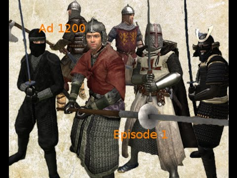 Mount and Blade Warband Ad 1200 Gameplay Part 1