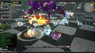 Aura Kingdom - 15F Sky Tower Raid Gameplay [Pandas]