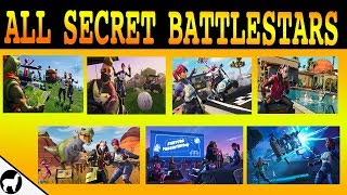 Tous les emplacements de la saison 5 Secret Battlestar (fr) Semaines 1-7 Fortnite Battle Royale - France Défis Road Trip
