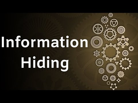 Information Hiding or Data Hiding in OOPs in Hindi | #4